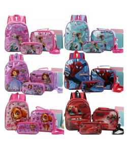 (3 in 1) Kids School Bag/Cartoon bag/Backpack