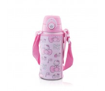 Thermos 600ml Hello Kitty Dual Stopper Bottle With Pouch FFG-600WFS-KT