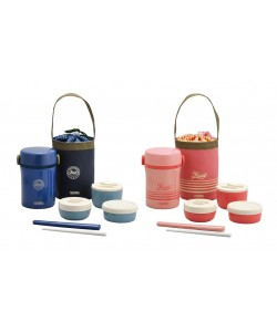 Thermos 600ml Lifestyle Lunch Jar With Bag JBC-801