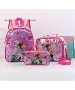 (3 in 1) Kids School Bag/Cartoon bag/Backpack (Defect Unit)