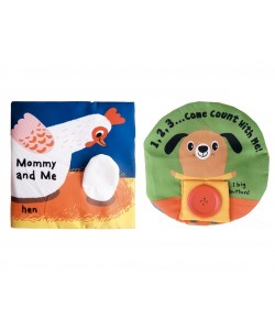 Baby Toddler Early Learning Cloth Book