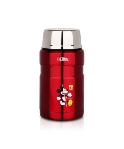Thermos 710ml Mickey 90th Stainless King Food Jar with Spoon SK-3021DS