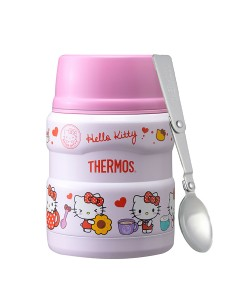 Thermos 470ml Stainless King Food Jar with Spoon SK-3001-KT