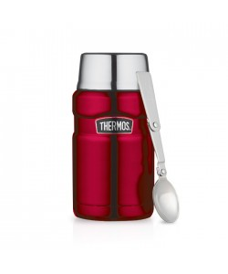 Thermos 710ml Stainless King Food Jar with Spoon SK-3020