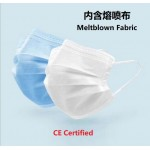 (Ready Stock) 3ply Disposable Earloop Face Mask