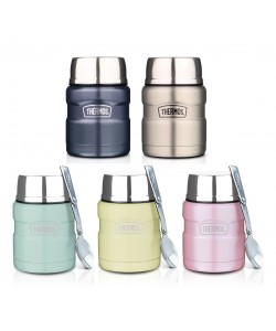 Thermos 470ml Stainless King Food Jar with Spoon SK-3002