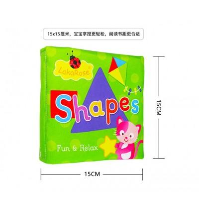 LakaRose Early Learning Cloth Book